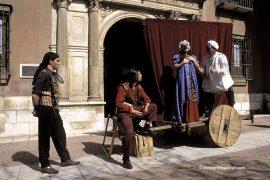 Ruta teatralizada de El Hereje. Palacio de Fabionelli. Valladolid. Castilla y León. España © Javier Prieto Gallego