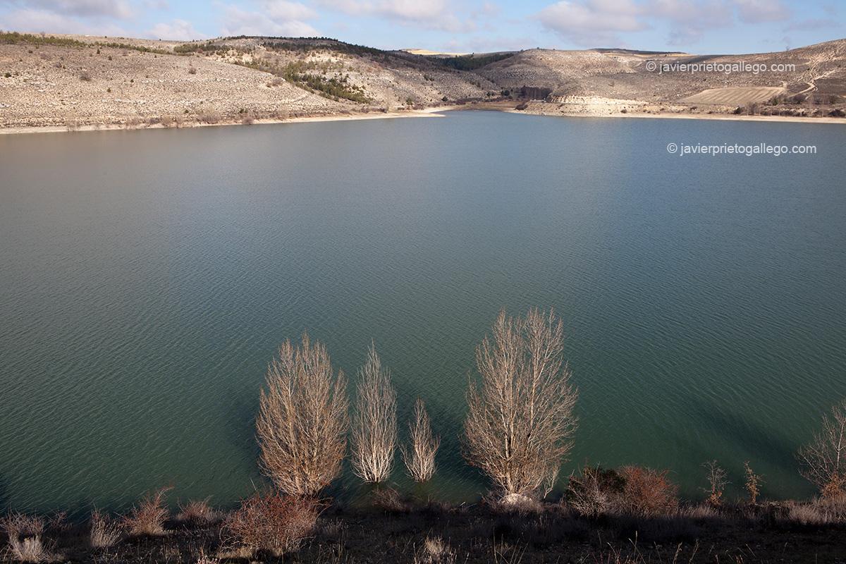 Embalse de Linares. Parque Natural Hoces del Riaza. Maderuelo. Río Riaza. Segovia.Castilla y León. España. © Javier Prieto Gallego;