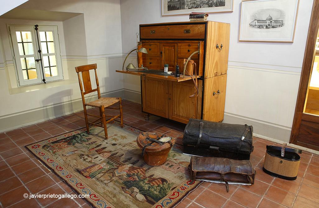 Equipo de viaje. Casa Museo Sierra-Pambley. León. Castilla y León. España. © Javier Prieto Gallego