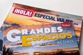 Portada de las revistas ¡HOLA! y Grandes Espacios. © Javier Prieto Gallego