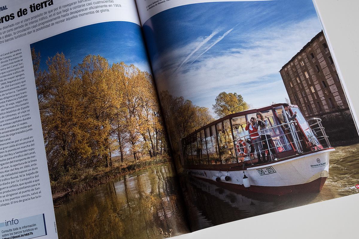 Una de mis fotografías sobre el Canal © Javier Prieto Gallego
