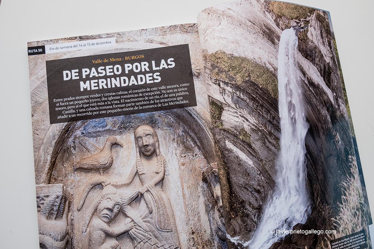 Apertura del reportaje sobre el Valle de Mena en el especial de viajes de la revista ¡HOLA! © Javier Prieto Gallego