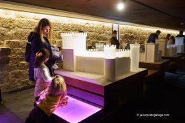 Maquetas expuestas en el interior del castillo de Fuensaldaña convertido en Centro de Interpretación de los Castillos de Valladolid. Valladolid. Castilla y León. España. © Javier Prieto Gallego