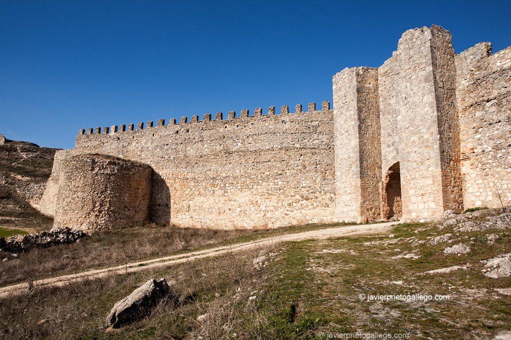 Muralla de Fuentidueña. Segovia. Castilla y León. España. © Javier Prieto Gallego