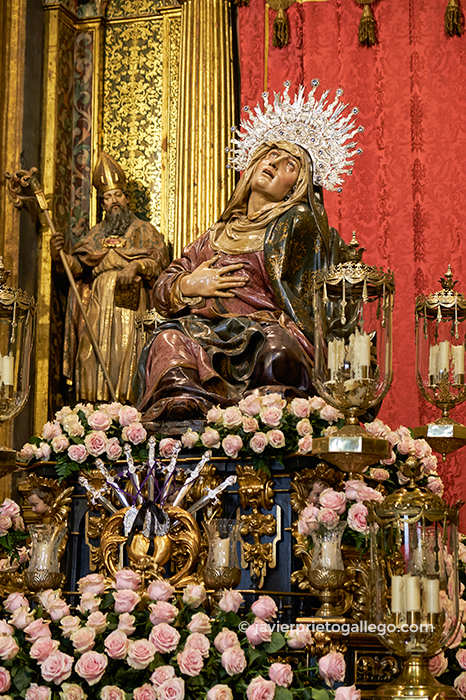 Nuestra Señora de las Angustias (Juan de Juni, posterior a 1561) Iglesia de Las Angustia. Valladolid. Castilla y León. España. © Javier Prieto Gallego