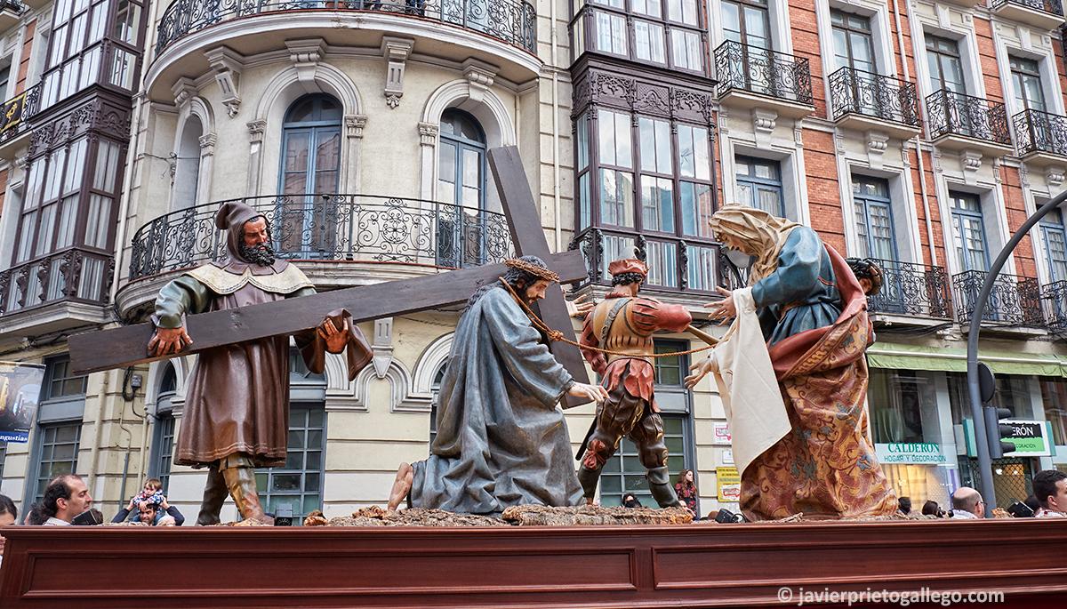 La Procesión General de la Sagrada Pasión del Redentor. Viernes Santo. Valladolid. Castilla y León. España. © Javier Prieto Gallego