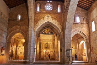 Interior de la iglesia del Santo Sepulcro. Toro. Castilla y León. España © Javier Prieto Gallego