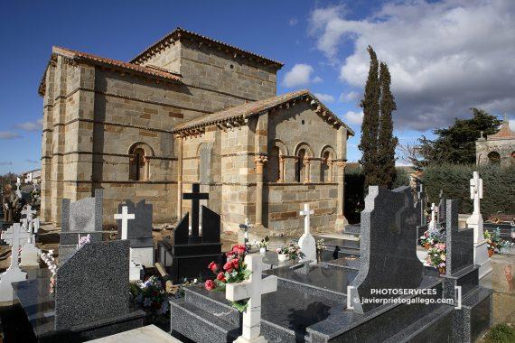 Santa Marta de Tera. Siglo XI. Camino de Santiago Sanabrés. Zamora. Castilla y León. España.© Javier Prieto Gallego;
