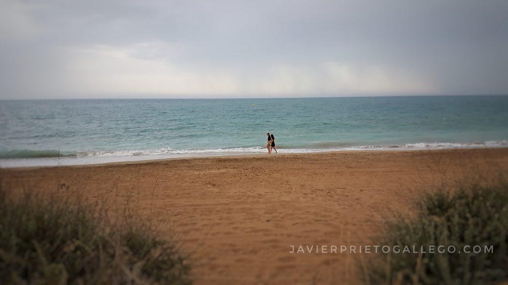 Playa de Peñíscola. Castellón. Comunidad Valenciana. España. © Javier Prieto Gallego