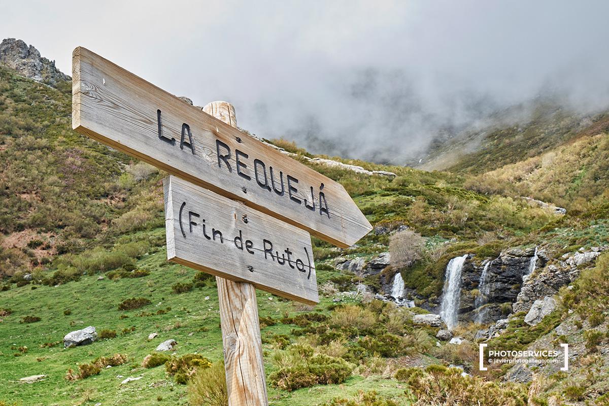 La Requejá. Cascadas del río Faro. Montaña Central Leonesa. León. Castilla y León. España. © Javier Prieto Gallego