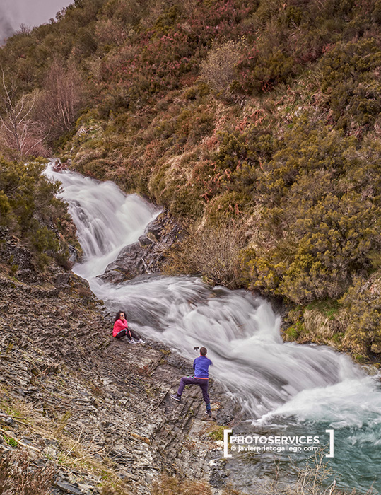 La Quemada. Cascadas del río Faro. Montaña Central Leonesa. León. Castilla y León. España. © Javier Prieto Gallego