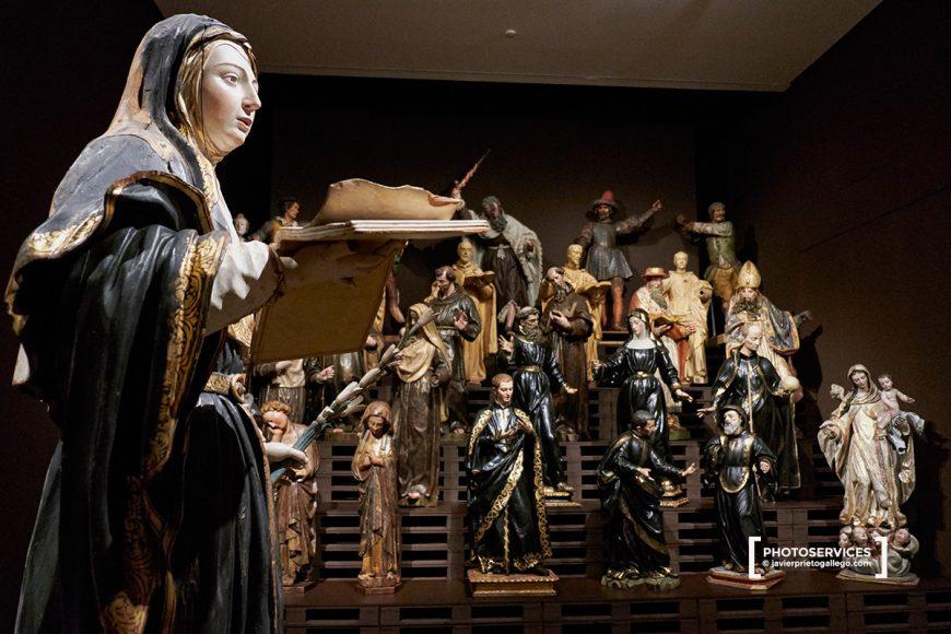 Exposición: Almacén. El Lugar de los Invisibles. Museo Nacional de Escultura. Valladolid. Castilla y León. España. © Javier Prieto Gallego