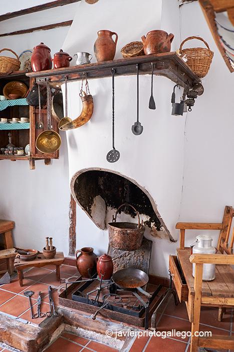 Interior del Museo de Pastores en Oncala. Soria. Castilla y León. España. © Javier Prieto Gallego