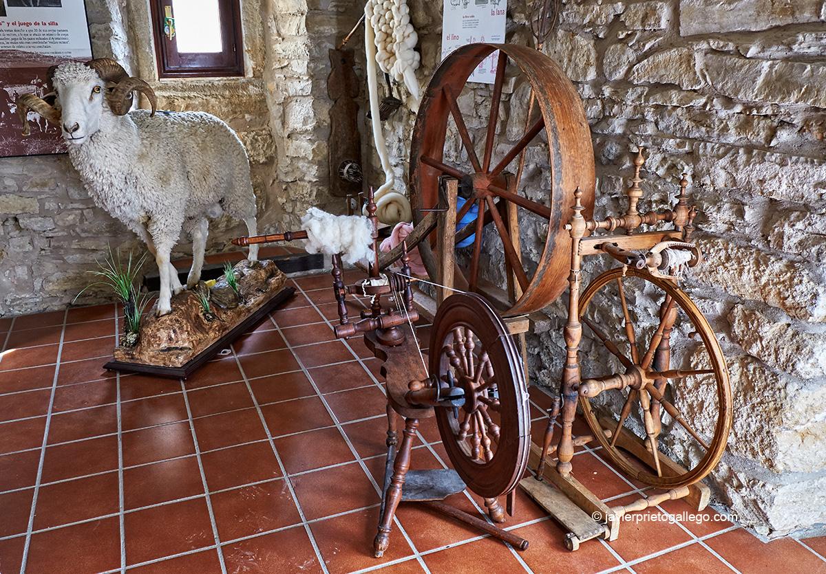 Interior del Museo de la Trashumancia en Oncala. Soria. Castilla y León. España. © Javier Prieto Gallego