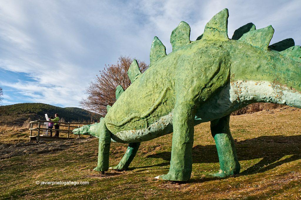Yacimiento de Santa Cruz de Yanguas. Dinosaurios ornitópodos.Ruta de las Icnitas. Soria. Castilla y León. España. © Javier Prieto Gallego