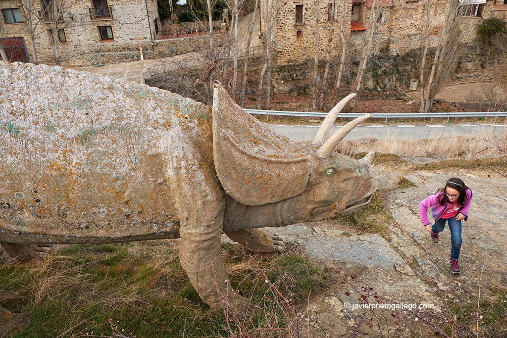 Yacimiento de La Matecasa. Bretún. Ruta de las Icnitas. Soria. Castilla y León. España. © Javier Prieto Gallego