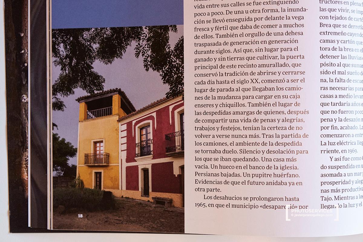 Reportaje de Javier Prieto Gallego sobre Granadilla (Cáceres) en el número 69 de la revista PATRIMONIO.