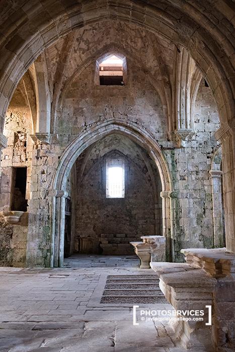 Monasterio de Santa María de Rioseco. Valle de Manzanedo. Las Merindades. Burgos. Castilla y León. España. © Javier Prieto Gallego