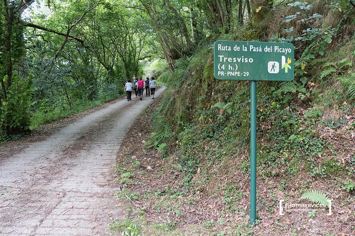 Ruta de Tresviso. San Esteban de Cuñaba. Picos de Europa. Asturias. España © Javier Prieto Gallego