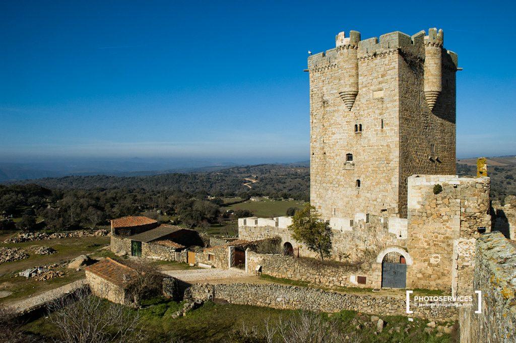 Castillo. San Felices de los Gallegos. Salamanca. Castilla y León. España © Javier Prieto Gallego