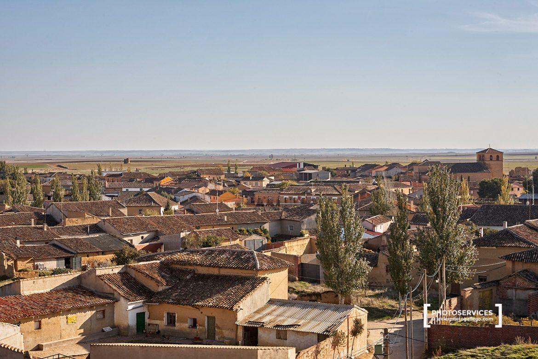 Cuenca de Campos. Camino de Santiago desde Madrid. Provincia de Valladolid. Comarca de Tierra de Campos. Castilla y León. España. © Javier Prieto Gallego