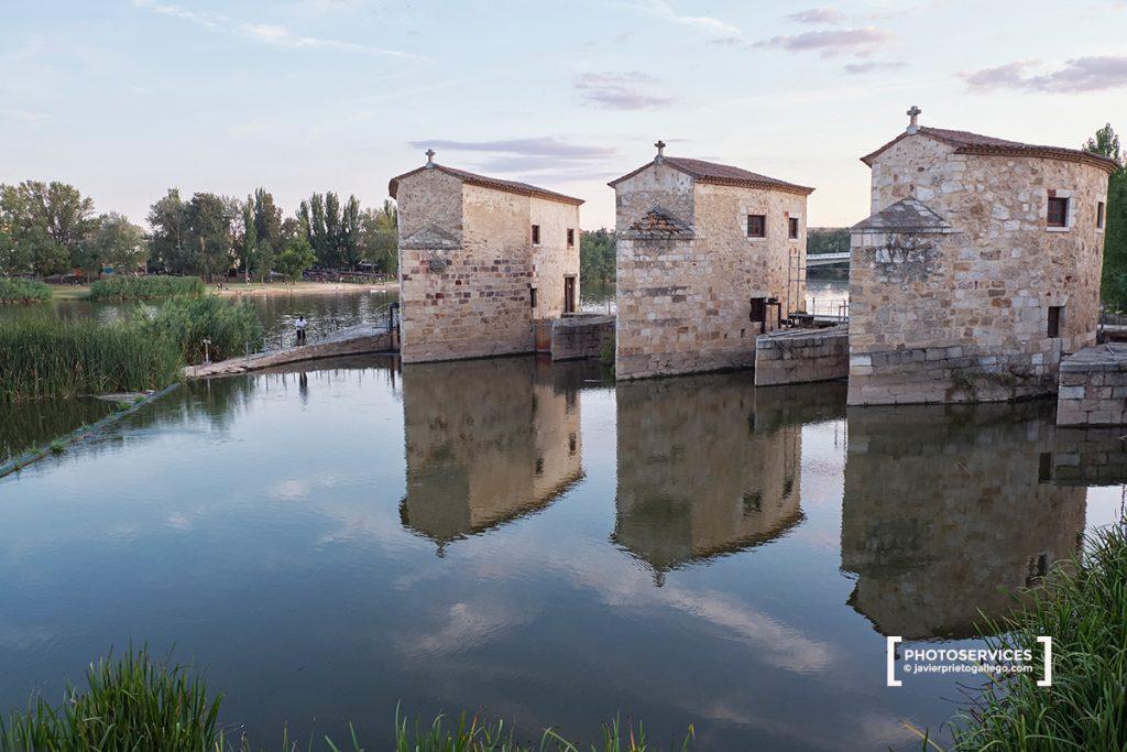Aceñas de Olivares. Paseo fluvial de Zamora junto a río Duero. Zamora. Castilla y León. España. © Javier Prieto Gallego