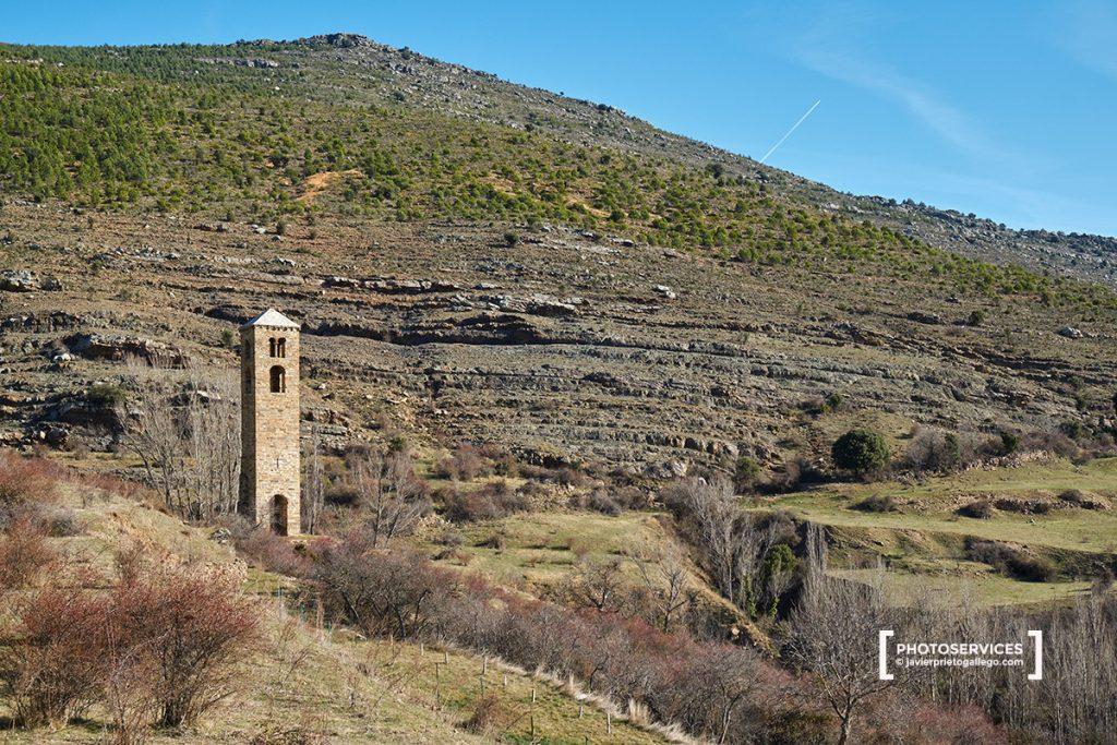 Torre de San Miguel. Siglo XII. Visitar Yanguas. Ruta de las Icnitas. Soria. Castilla y León. España. © Javier Prieto Gallego
