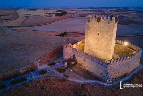 Castillo de Tiedra. Valladolid. Castilla y León. España. © Javier Prieto Gallego