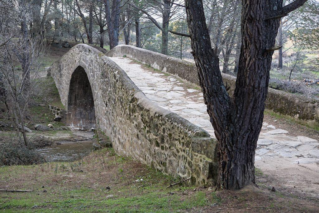 Puente de Mosquea sobre el Tiétar cerca de La Adrada. Sierra de Gredos. Valle del Tiétar. Ávila.Castilla y León. España. © Javier Prieto Gallego