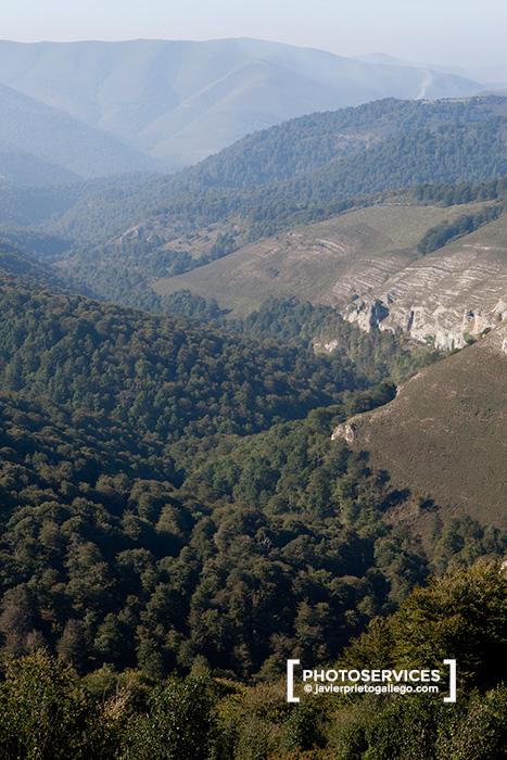 Alto Saja y valle de Cabuérniga. Parque Natural Saja-Besaya. Cantabria. España © Javier Prieto Gallego